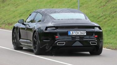 Porsche Mission E - rear