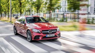 Mercedes-AMG C43 2018 facelift - front