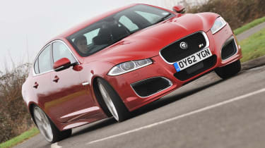 2013 Jaguar XFR Speed Pack front view