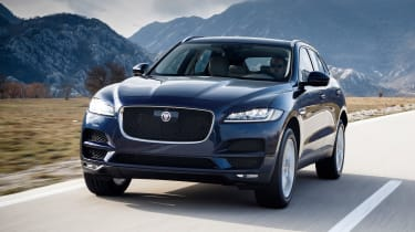 18 F-pace front