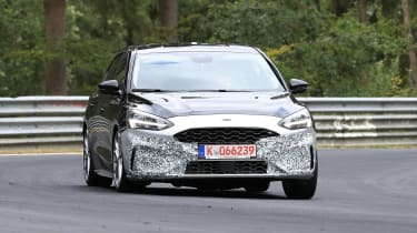 2019 Ford Focus ST prototype - front
