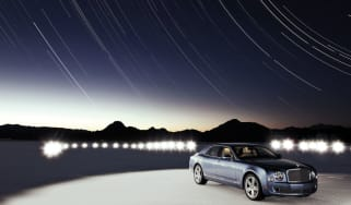 Bentley Mulsanne star trails