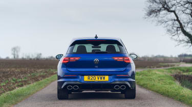 Volkswagen Golf R 2021 review - tail