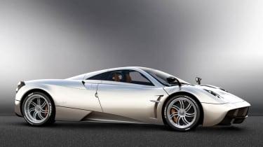 New Pagani Huayra supercar - the 700bhp Zonda replacement