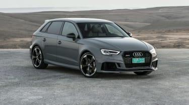 Audi RS3 Sportback Grey front