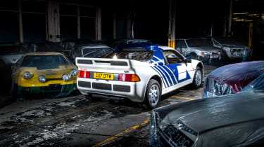 Ford RS200 – rear