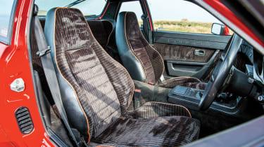 Porsche 924 Carrera GT – seats