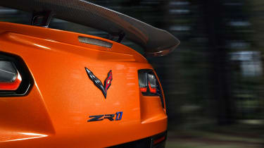 Corvette ZR1 - rear