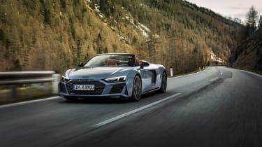 Audi R8 V10 Performance RWD – Spyder front