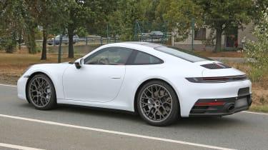 992 Porsche 911 spied - rear quarter