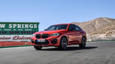 BMW X4 M - front quarter