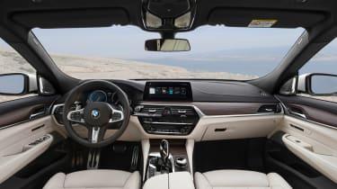 BMW 6-series GT - interior dash
