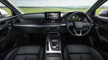 Audi Q5 2021 – dash