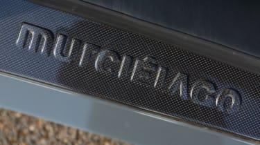 Lamborghini Murcielago LP640 sill badge