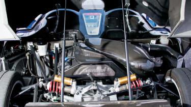 Koenigsegg CC8S engine bay