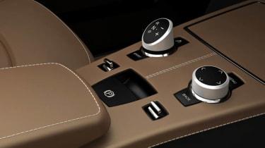 BMW CS Vintage Concept interior gear selector