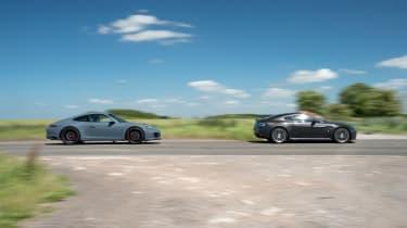 Porsche 911 Carrera GTS v Aston Martin V12 Vantage S