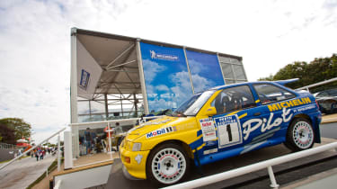 Ford Escort Cosworth WRC car at the Goodwood Festival of Speed