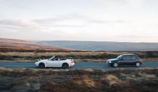 BBR Mazda MX-5 Turbo vs PUG1OFF Peugeot 205 GTI 195