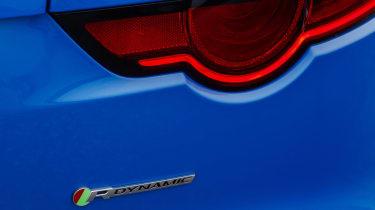 Jaguar F-type four-cylinder rear light