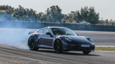 Porsche 911 final testing - sliding