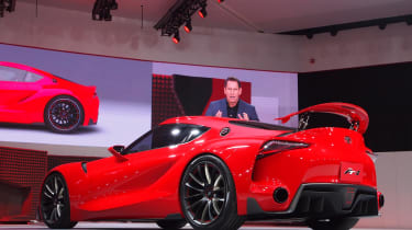 Toyota FT-1 'new Supra' concept Detroit show pictures
