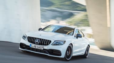 Mercedes-AMG C 63 S Coupe - white
