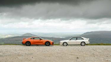 GT-R vs Quattro - stop