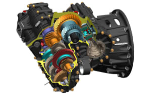Pagani Huarya's Xtrac gearbox