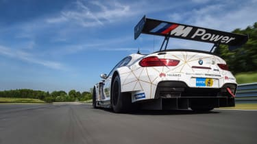 BMW M6 GT3 - wing