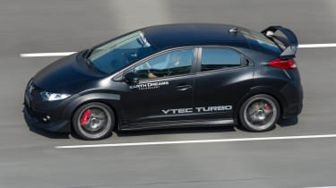 Tokyo motor show 2013: turbo Honda Civic Type-R