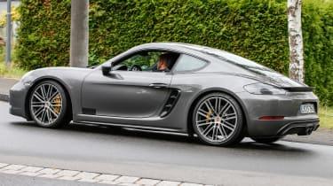 Porsche 981.2 Cayman GTS - rear