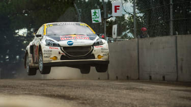 World RX R9 Canada - Peugeot jump