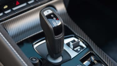 Jaguar F-Type SVR Convertible - gear shifter