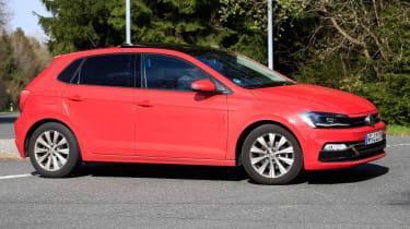 VW Polo spy side