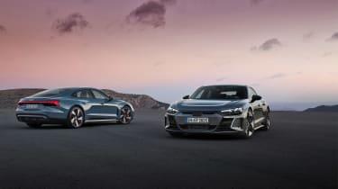 Audi e-tron GT quattro - rear