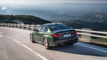 BMW M5 CS - rear quarter tracking