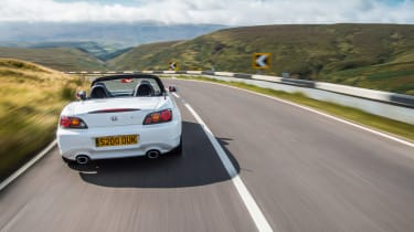 Honda S2000 icon - rear tracking