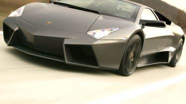 Lamborghini Reventon front close-up