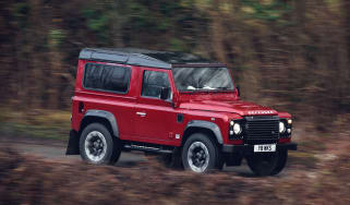 Land Rover Defender Works V8 – front quarter