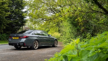 BMW M5 CS – rear quarter static 2