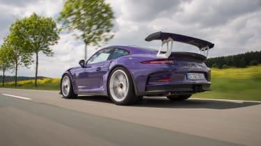 Porsche 911 GT3 RS - rear quarter