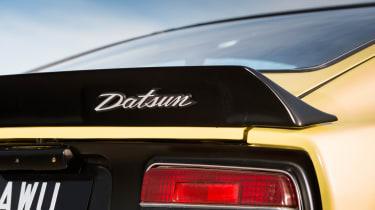 Datsun 240Z badge detail