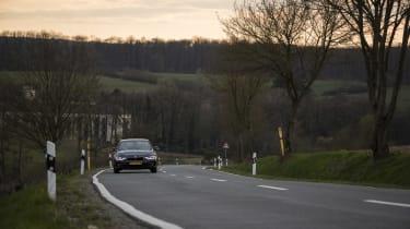 BMW 320i front road