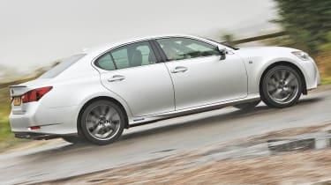 2012 Lexus GS450h F Sport side profile
