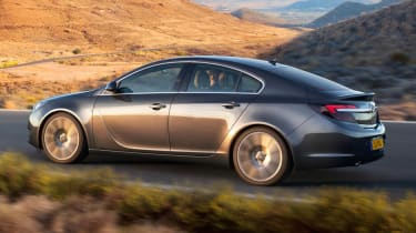 New 2013 Vauxhall Insignia side profile