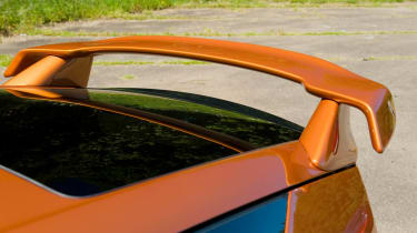 Mugen Honda CR-Z hybrid coupe spoiler