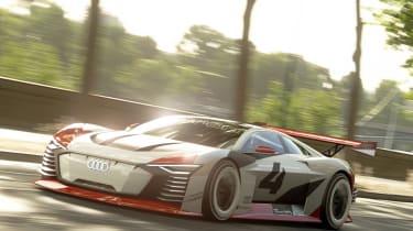 Audi e-tron Vision Gran Turismo front quarter