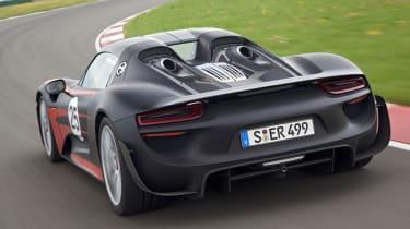 Porsche range: all-hybrid future Porsche 918 Spyder