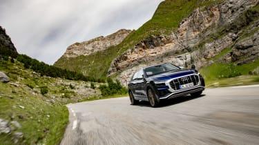 Audi SQ8 TDI review - frotn